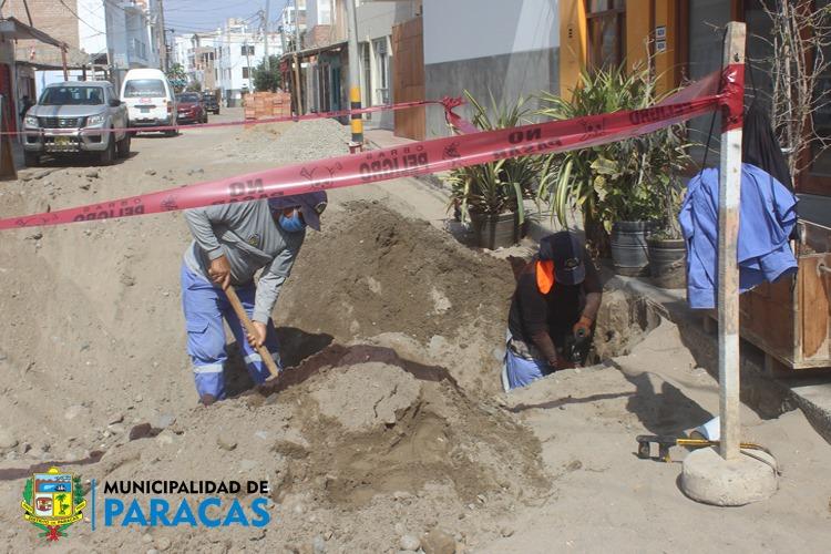Thumbnail for the post titled: TRABAJOS DE MANTENIMIENTO DE REDES DE AGUA POTABLE PARA OPTIMIZAR EL SERVICIO DE ABASTECIMIENTO