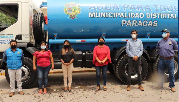 Thumbnail for the post titled: ADQUISICIÓN DE UN CAMIÓN CISTERNA PARA LOS SERVICIOS DE AGUA Y MANTENIMIENTO