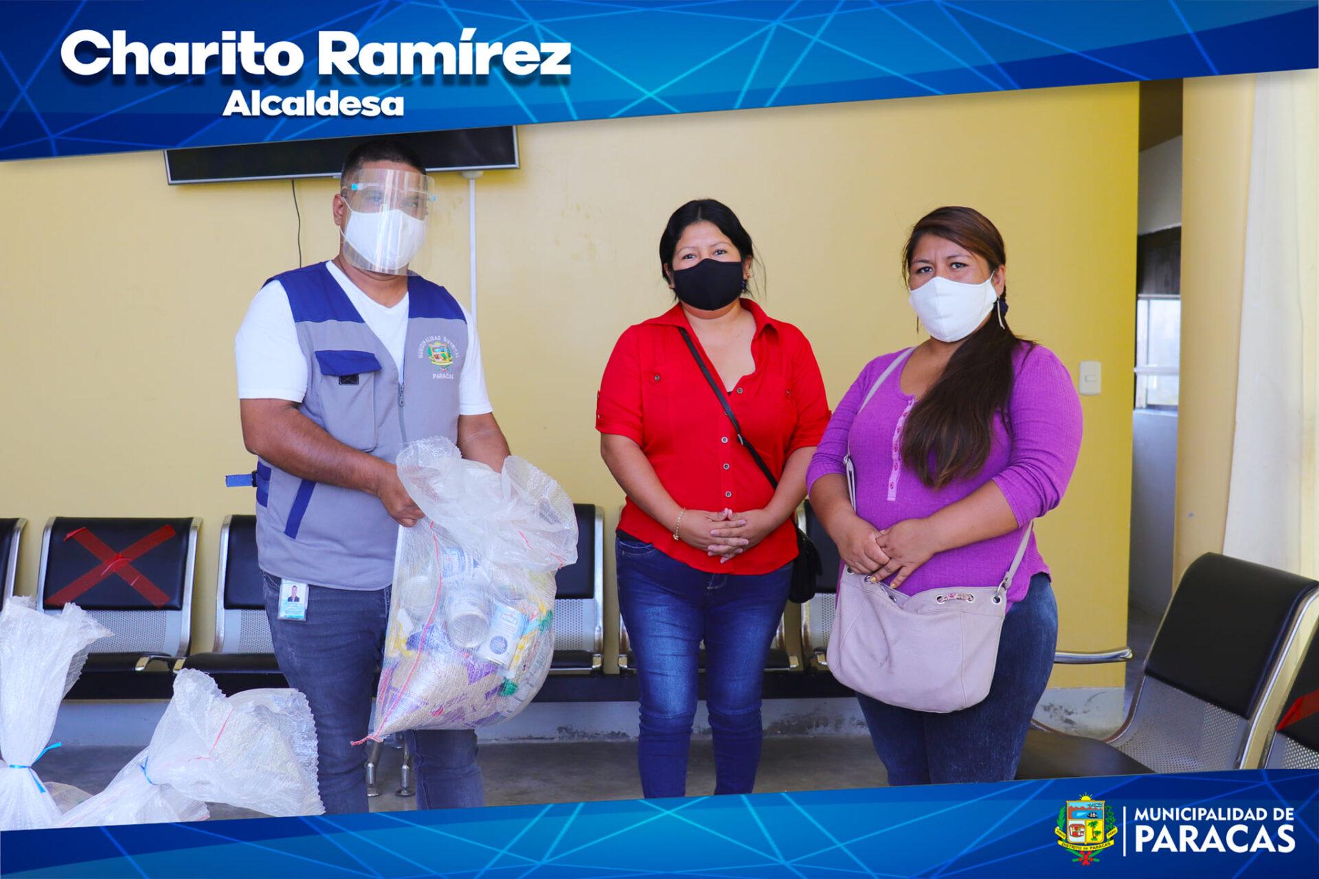 Thumbnail for the post titled: 🔴🔵ALCALDESA CHARITO RAMÍREZ ENTREGÓ BOLSAS CON VÍVERES  A MIEMBROS DE DIVERSAS ASOCIACIONES DE ARTESANOS, PESCADORES, SOMBRILLEROS Y COMIDA RÁPIDA DEL DISTRITO